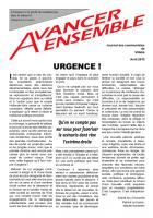 Journal des communistes de Villabé