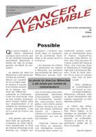Avancer ensemble, le bulletin des communistes de Villabé