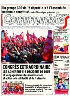 Journal CommunisteS n°687 28 juin 2017