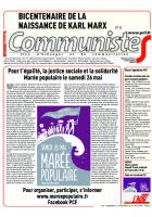 Journal CommunisteS n°725