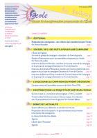 La lettre du réseau n°53 - janvier 2012