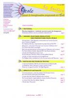 La lettre du réseau école - spécial législatives - mai 2012