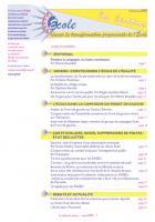 La lettre du réseau n°54 - mars 2012