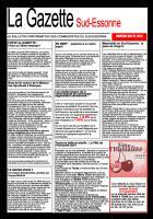 La Gazette du Sud Essonne