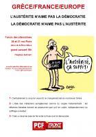L'AUSTÉRITE N'AIME PAS LA DÉMOCRATIE / LA DÉMOCRATIE N'AIME PAS L'AUSTÉRITE