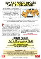 DÉBAT PUBLIC  sur la réforme des territoires