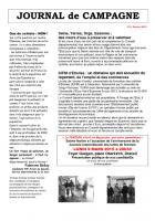 Journal de campagne de Draveil