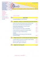 La lettre du réseau école - Décembre 2010