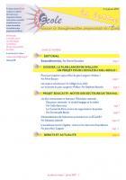 La lettre du Réseau école - Février 2011
