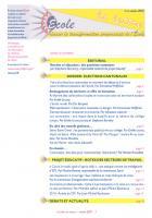 La lettre du réseau école - Octobre 2010