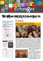 Echanges numéro 162 du 14 janvier 2015