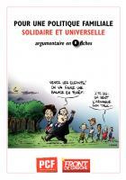 ARGUMENTAIRE : Pour une politique familiale solidaire et universelle