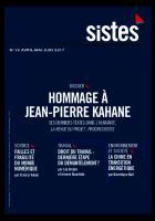 Progressistes n°16 Avril Mai Juin 2017: Hommage à Jean-Pierre Kahane