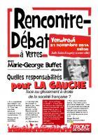 A Yerres, rencontre-débat avec Marie-George BUFFET