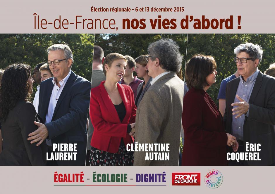 Île de France, Nos vies d'abord !