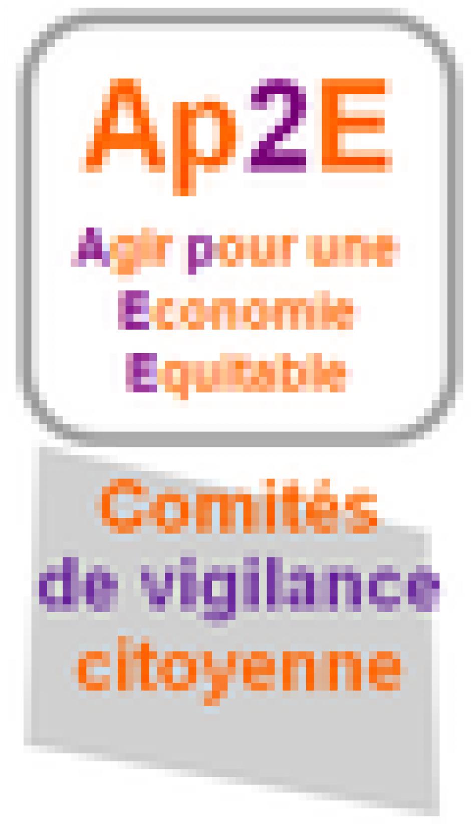 Agir pour une economie equitable :