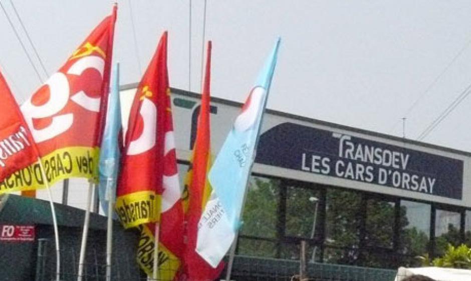 Les cars d'Orsay en grève