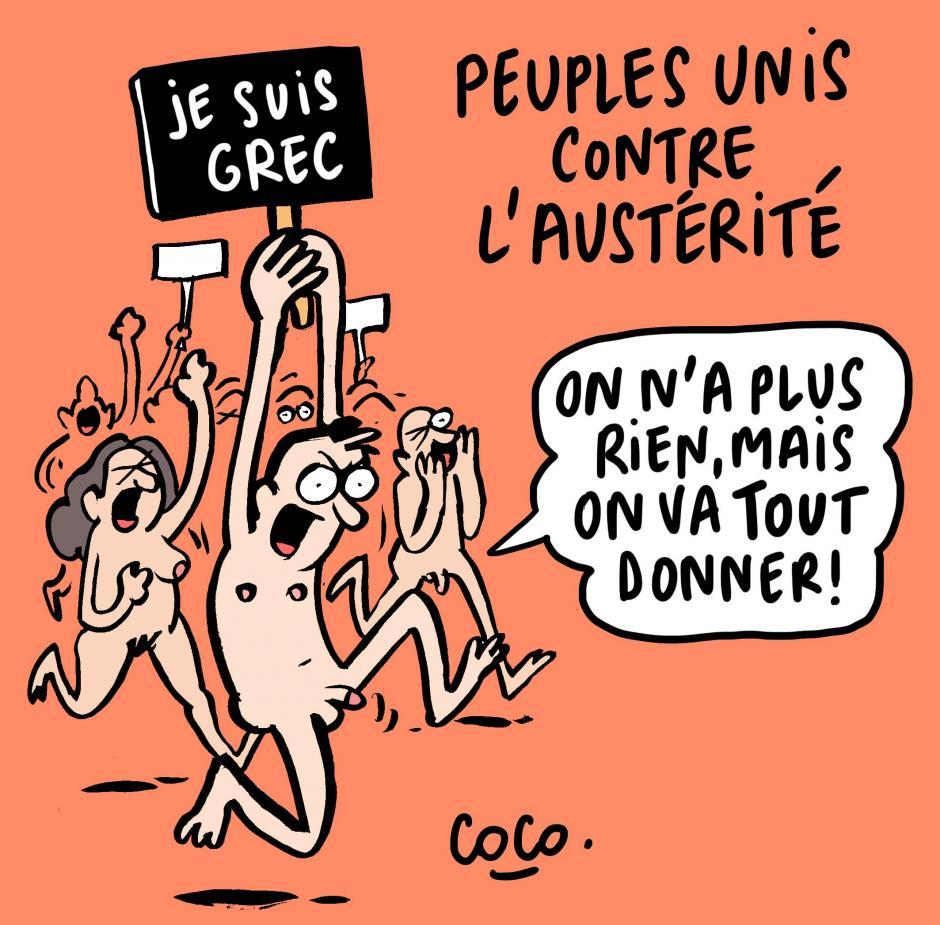 L'austérité tue, la démocratie meurt. Résistons !