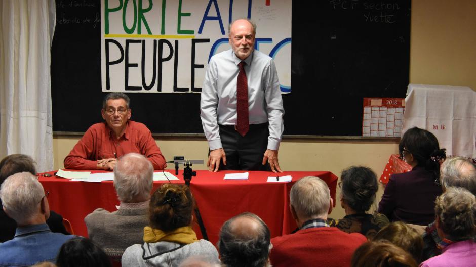 A Orsay, un débat sur l'Europe avec Francis Wurtz