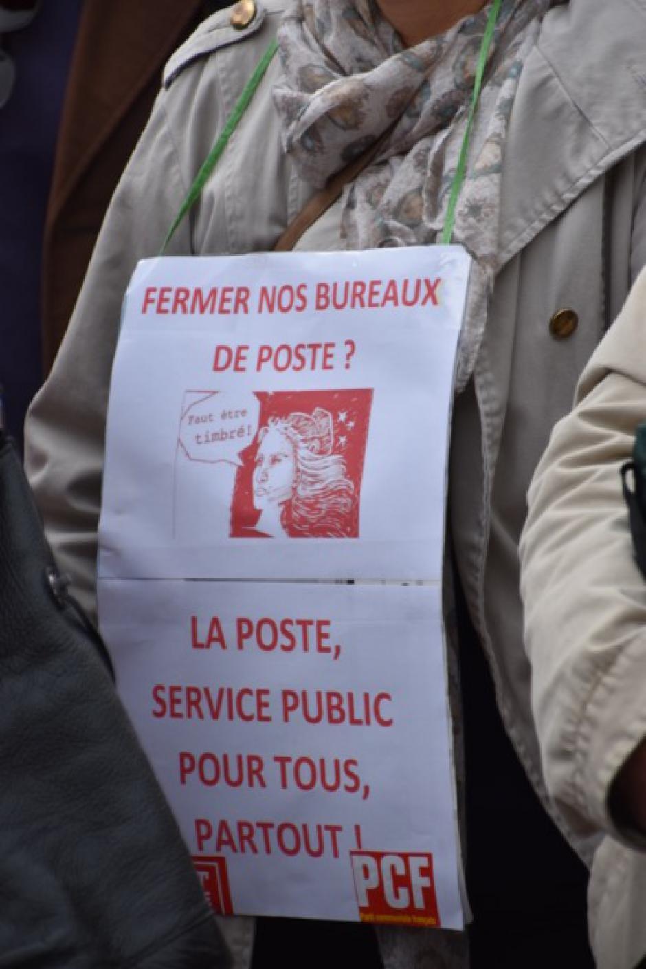 Pour la Défense du service public de la Poste