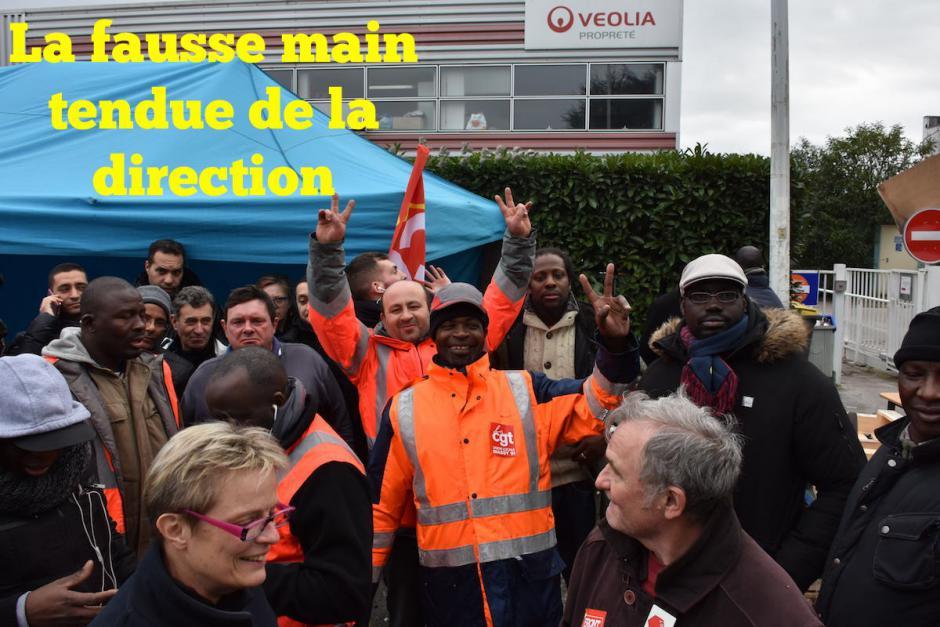 VEOLIA WISSOUS : La solidarité en marche et la determination intacte