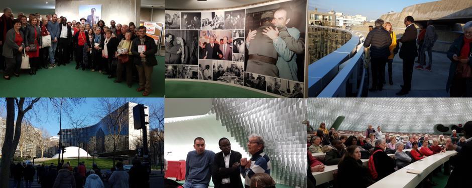 Expo Marchais et visite du siège du PCF