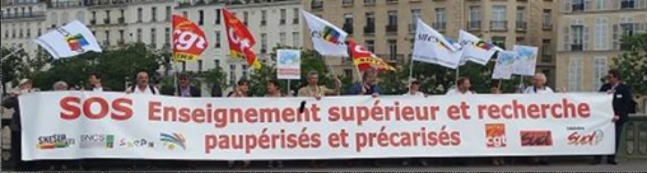 L'effort de recherche de la France continue de baisser !
