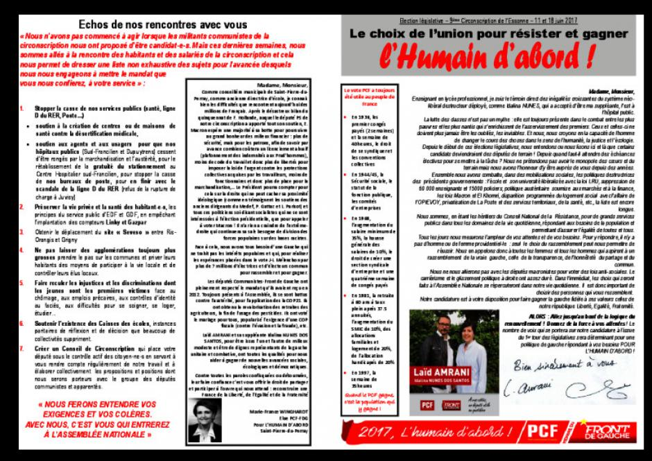 Tract 9e circonscription