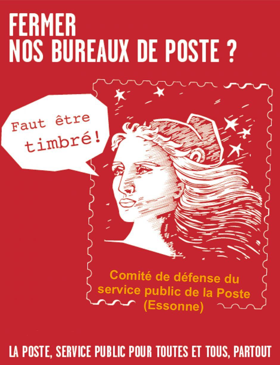 SAMEDI 20 MAI : Défendons nos bureaux de Poste Et un service public de qualité