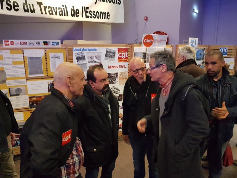 A la rencontre des habitant-es de la 1ere circonscription de l'Essonne