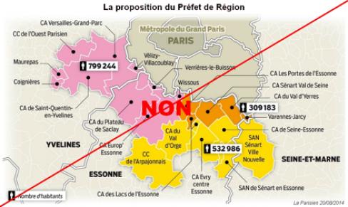 Le PCF de l'Essonne lance un appel aux élus et aux citoyens contre le redécoupage autoritaire des agglomérations