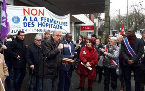 Orsay, Longjumeau, Juvisy Hôpitaux publics de notre territoire en danger !