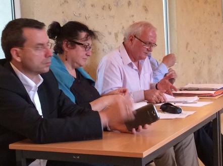 Assemblée générale de l'ADECR le 26 juin 2014. Réforme territoriale.