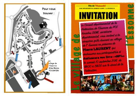 Le village de l'Essonne au coeur de la fête