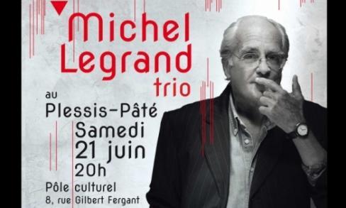 Inauguration du centre culturel Michel Legrand au Plessy-Pâté