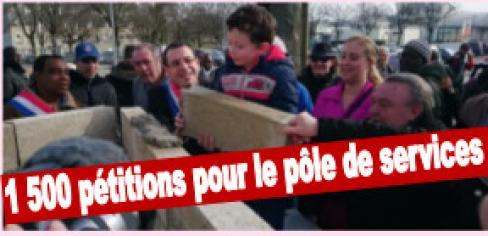 LA GRANDE BORNE VEUT SES SERVICES PUBLICS