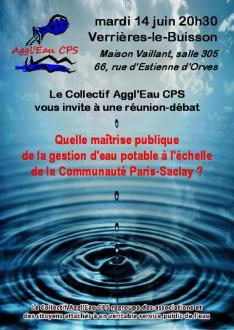 Pour la gestion publique de l'eau