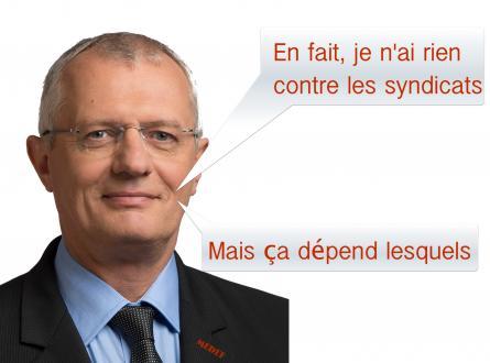 Pas de trêve syndicale pour le maire UMP de Viry